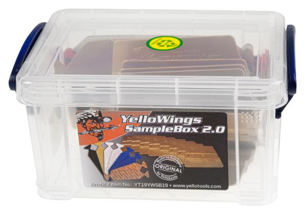 Yellotools YelloWings SampleBox 2.0 Rakelpolster Probierset