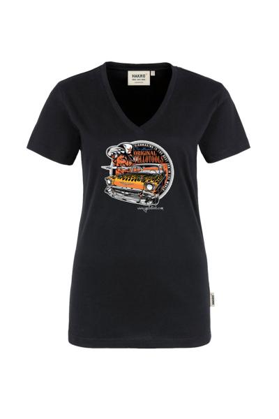 """Yellotools Damen T-Shirt mit Frontmotiv """"Bel Air 4.0"""""""