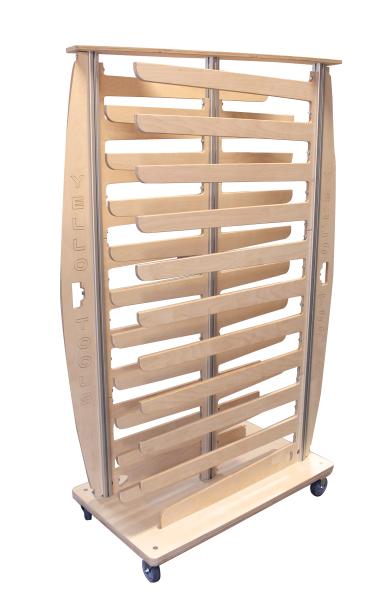 Yellotools Speed TimberRack | mobiler Folienrollenhalter