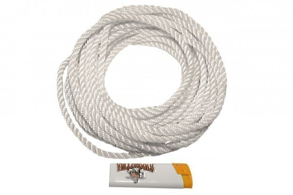 BannerRope Polyamid-Seil Abbildung mit Feuerzeug Yellotools