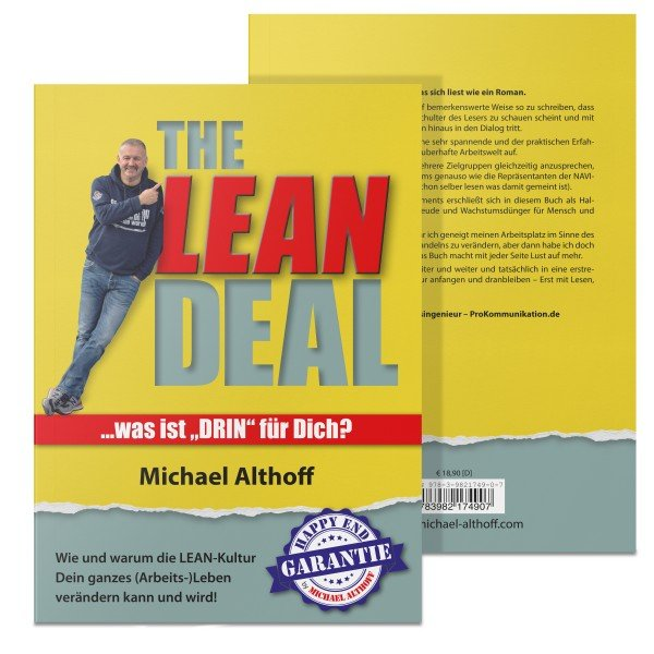 The Lean Deal   Lean Buch   Michael Althoff   Yellotools