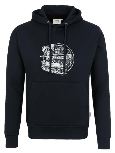 """Yellotools Kapuzen-Sweatshirt mit Frontmotiv """"Bel Air 1.0"""""""