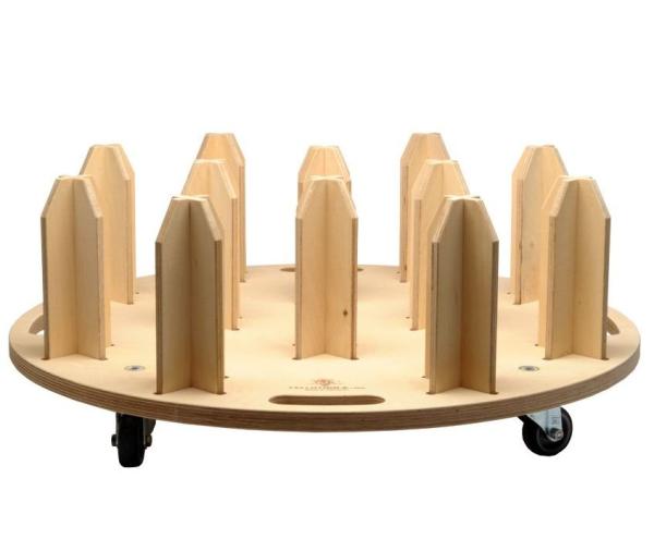 Yellotools Twister Rondo   mobiler Folienrollenhalter